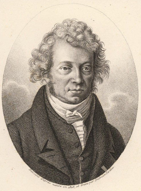 Engraving of André-Marie Ampère (1775 – 1836) Source: Wikimedia Commons