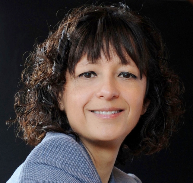 Emmanuelle Charpentier, August 2015 Source: Wikimedia Commons