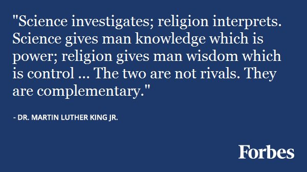 MLK Science & Religion
