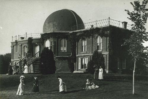 The first building completed at Vassar College was the observatory, long called the Maria Mitchell Observatory.