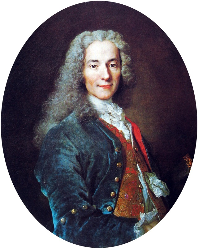 François-Marie Arouet (1694–1778), known as Voltaire