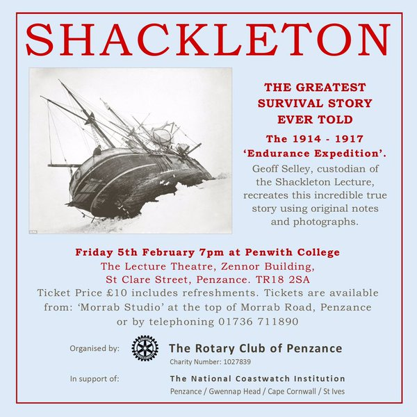 Shackelton Event