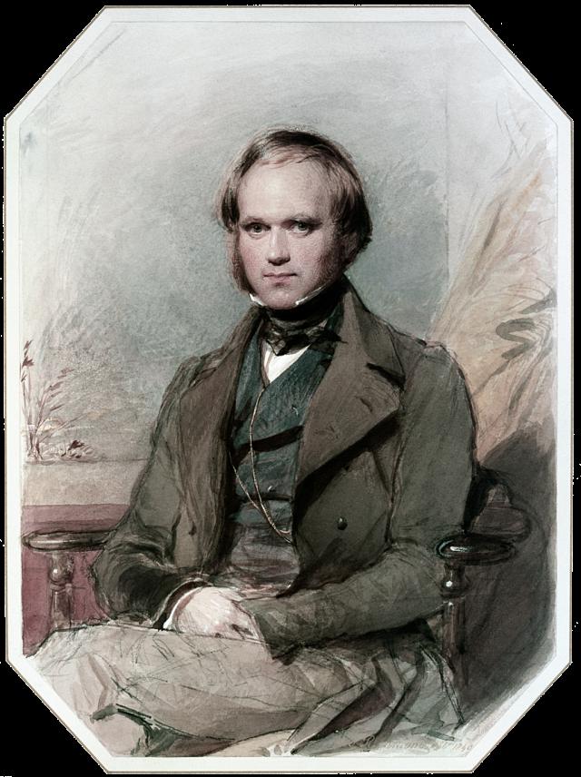 Charles Darwin drawing by G Richmond Source: Wikimedia Commons