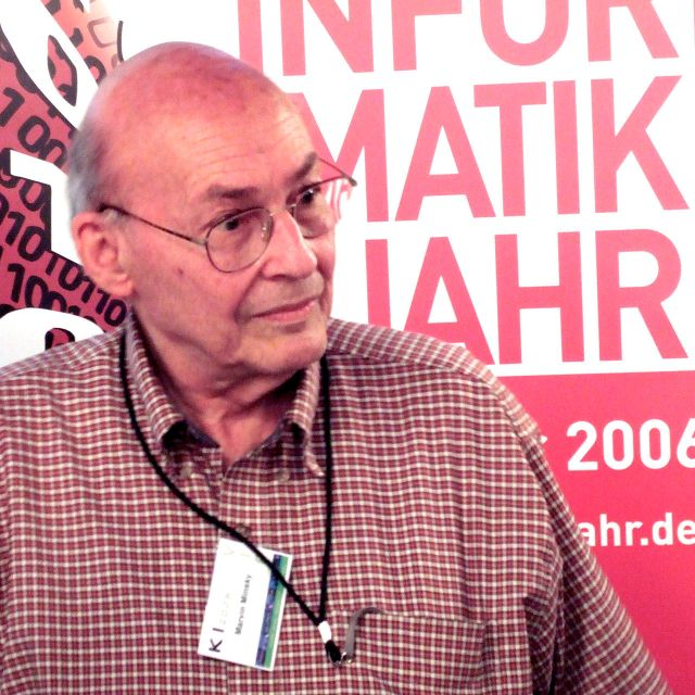 More details Marvin Minsky at the KI 2006 artificial intelligence conference in Bremen Source: Wikimedia Commons