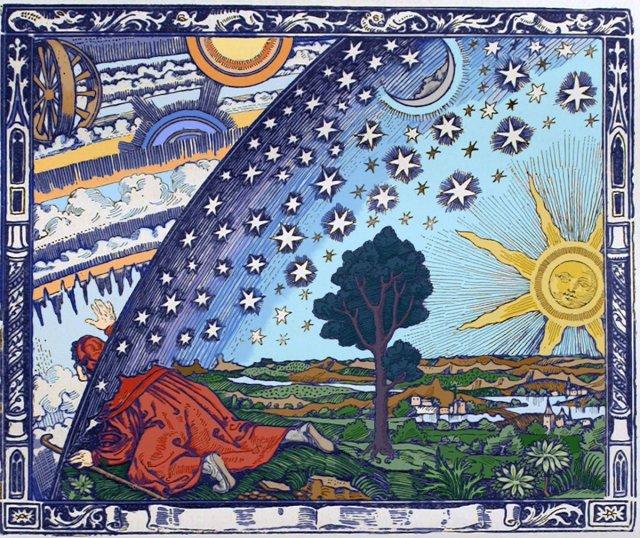 Flammarion engraving, Paris 1888, for Flammarion's 1888 L'atmosphère : météorologie populaire (p. 163) Source: Wikimedia Commons