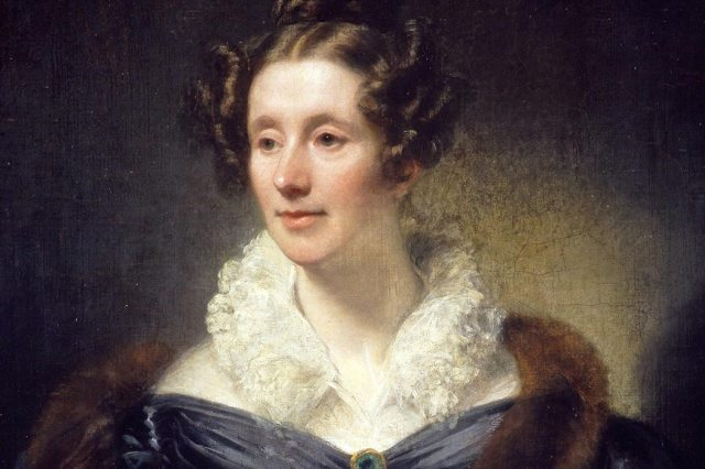 Mary Somerville (1780 - 1872), portrait by Thomas Phillips (1833). WikiMedia Commons