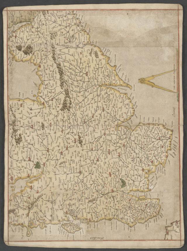 Mercator-Atlas England C29 c 13