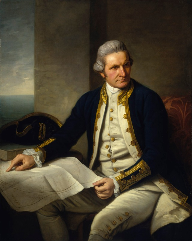 James Cook, portrait by Nathaniel Dance-Holland, c. 1775, National Maritime Museum, Greenwich