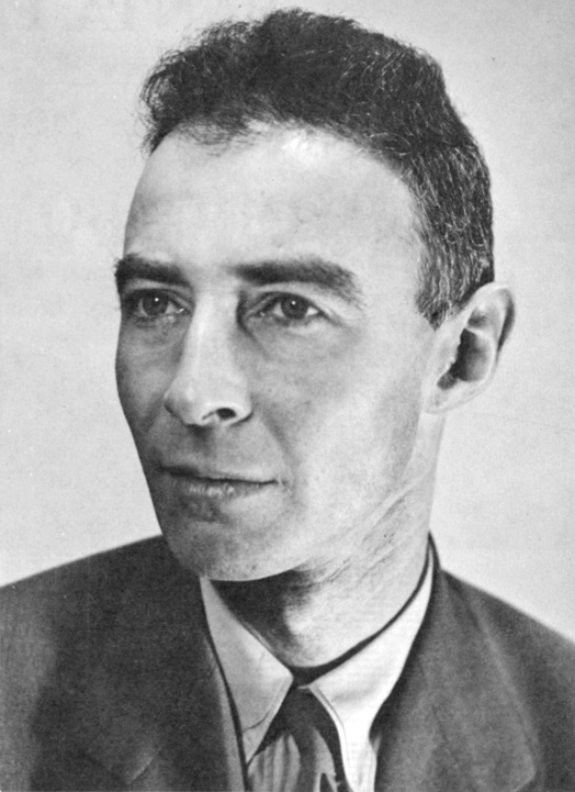 J. Robert Oppenheimer, c. 1944 Source: Wikimedia Commons