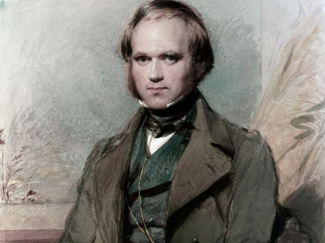 The young sea-faring Charles Darwin – seen here in an 1809 portrait – is to be portrayed as an Indiana Jones-style adventurer Alamy