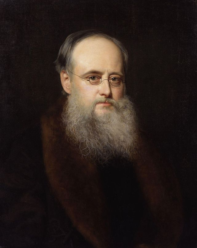 Wilkie Collins Portrait by Rudolph Lehmann, 1880 Source: Wikimedia Commons