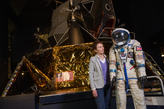 Helen Sharman on the 25th anniversary of her spaceflight. Image: Thomas Angus/Imperial College London