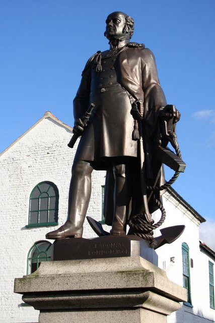 Statue of John Franklin in his home town of Spilsby Source: Wikimedia Commons