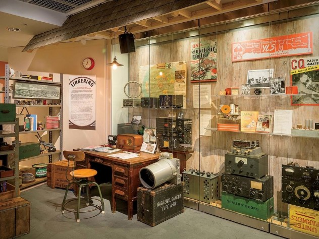 """Scenes from an exhibition: """"Radio Contact"""" at Harvard's Collection of Historical Scientific Instruments Photograph by Samantha van Gerbig/Courtesy of the Collection of Historical Scientific Instruments"""