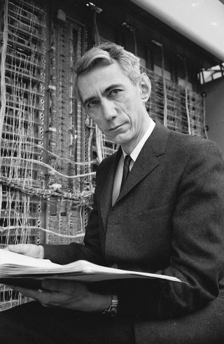 A hundred years after his birth, Claude Shannon's fingerprints are on every electronic device we own. CREDIT PHOTOGRAPH BY ALFRED EISENSTAEDT / THE LIFE PICTURE COLLECTION / GETTY
