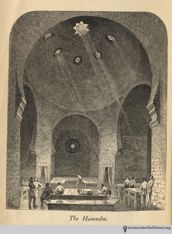 The Hammam. In: Urquhart, Manual of the Turkish Bath, 1865.