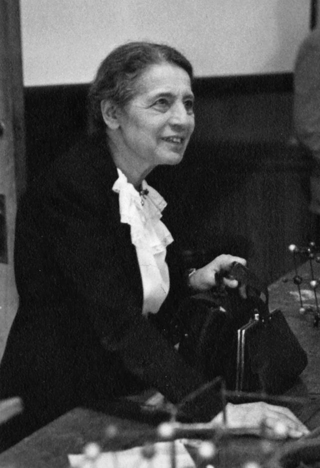 Lise Meitner 1946 Source: Wikimedia Commons