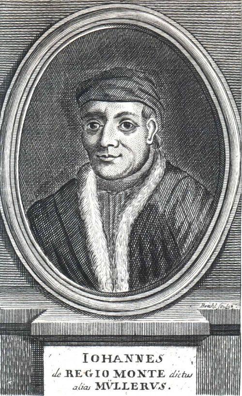 Johannes Regiomontanus, Woodcut Source: Wikimedia Commons