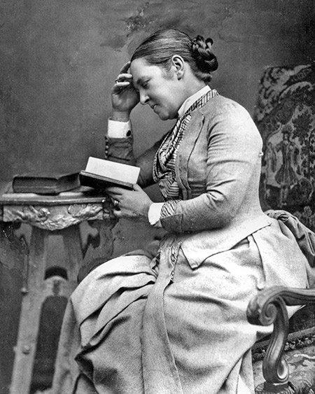 Elizabeth Garrett Anderson circa 1889 Source: Wikimedia Commons