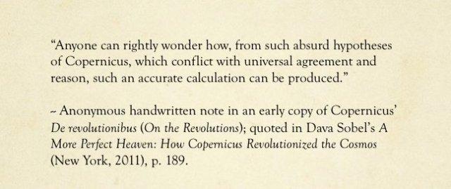 Copernicus Quote