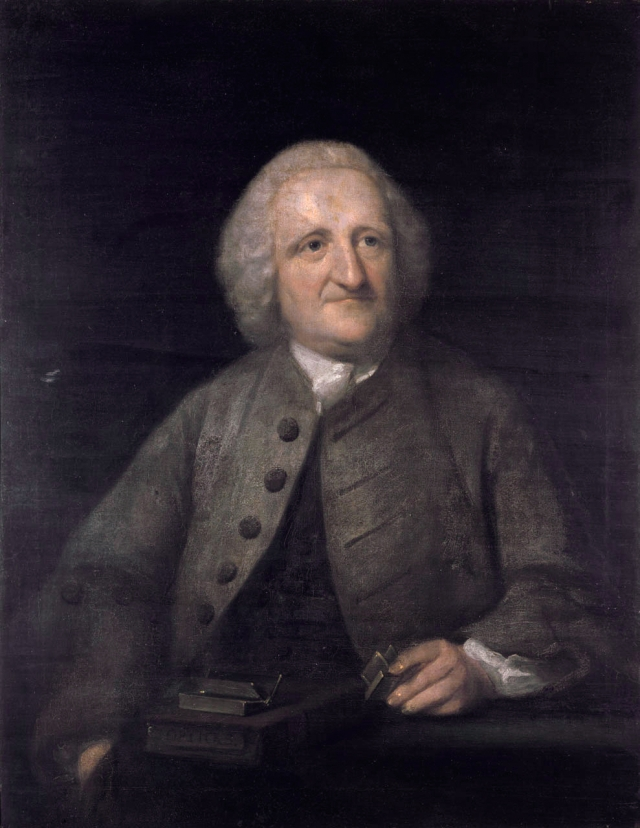 John Dollond by Benjamin Wilson *mid to late 18th century Source: Wikimedia Commons