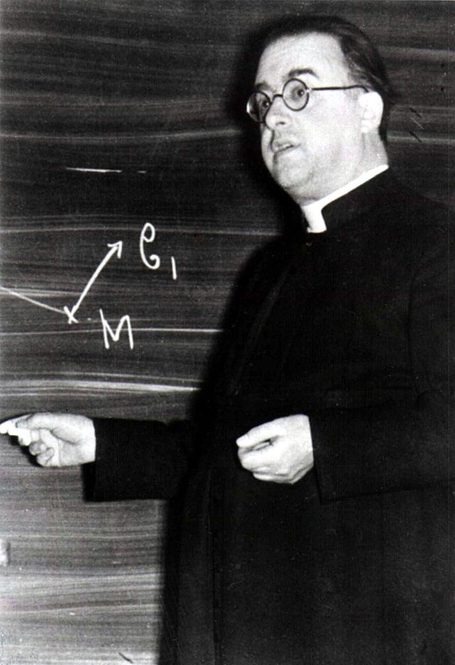 Georges Lemaître c. 1933 Source: Wikimedia Commons