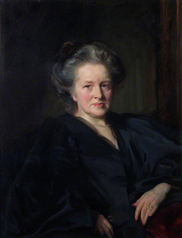 A 1900 portrait of Elizabeth Garrett Anderson, LSA, MD (9 June 1836 – 17 December 1917) John Singer Sargent Source: Wikimedia Commons