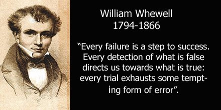 Whewell quote
