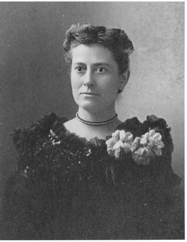 Williamina Paton Stevens Fleming (1857-1911), circa 1890s. (Courtesy Curator of Astronomical Photographs at Harvard College Observatory.)