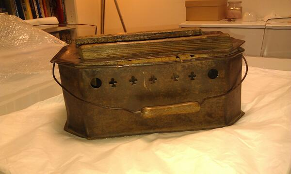 This week's mystery object from the museum's collection store is Florence Nightingale's foot warmer.