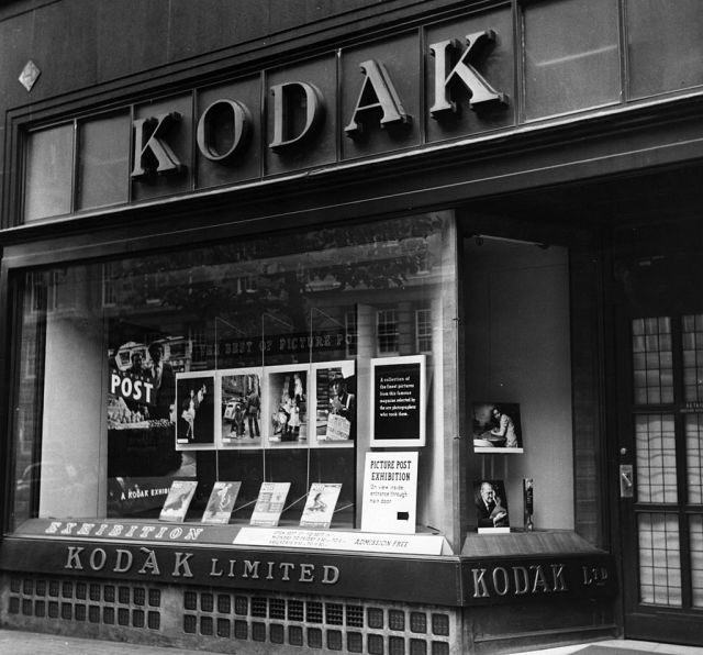 Kodak shop in the 1950s Getty Picture Post