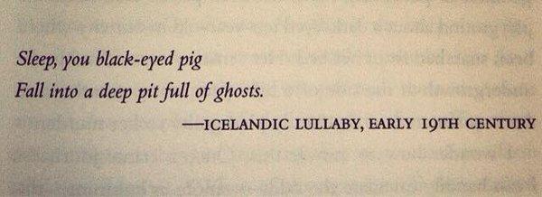 Icelandic Lullaby