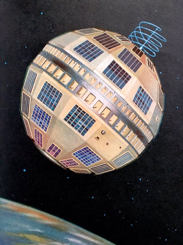 Today in Ladybird 11 July 1962 Satellite Telstar 1 successfully relays the first TV pictures through space