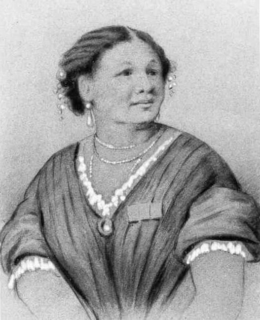 A watercolour painting of Mary Seacole (c. 1850) Source: Wikimedia Commons