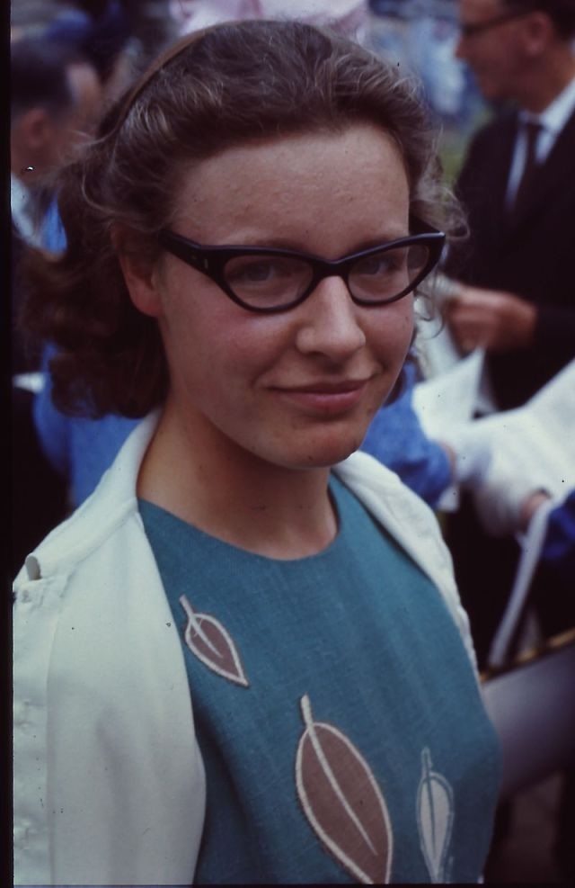 Susan Jocelyn Bell, June 1967 Source: Wikimedia Commons
