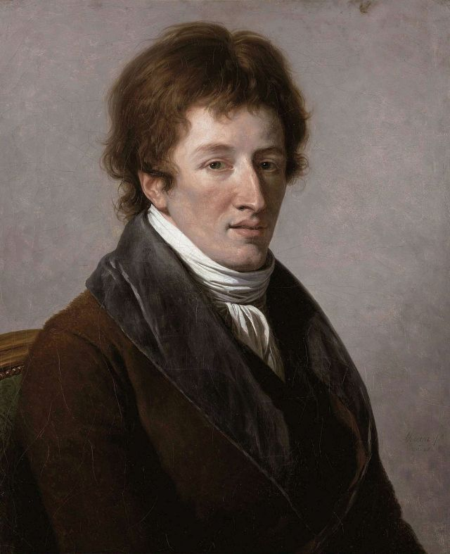 Georges Cuvier Portrait by François-André Vincent, 1795 Source: Wikimedia Commons