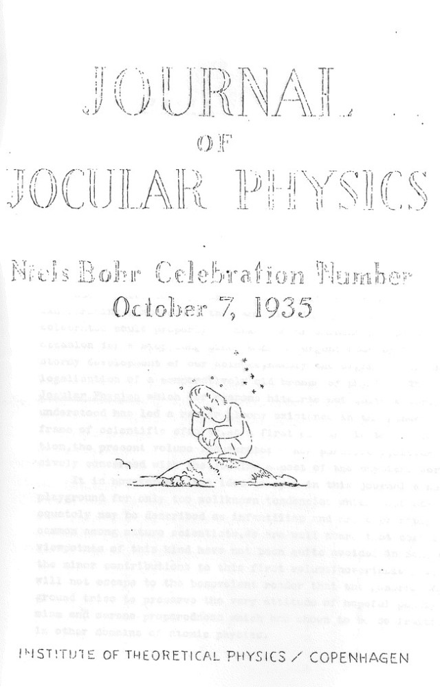 Courtesy of the Niels Bohr Archive.