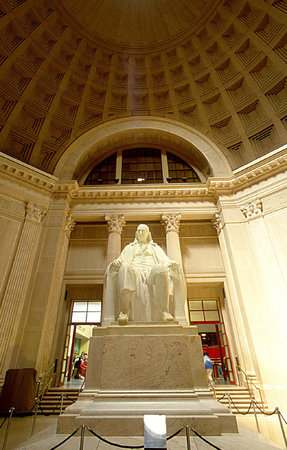 In the Franklin Institute , the Benjamin Franklin Memorial Chamber. File