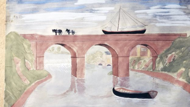 Various accounts suggest Brindley carved cheese to showcase his Barton Aqueduct design to a parliamentary committee HERBERT DUNKLEY