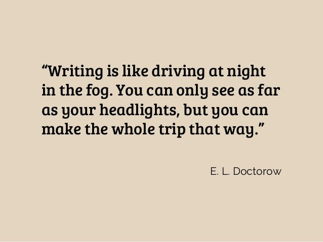 Doctorow writing