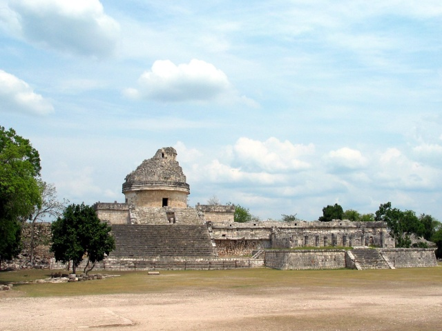 The Caracol structure at Chichen Itza has been interpreted as an observatory Source: Wikimedia Commons