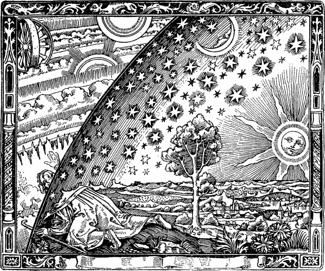 "Flammarion engraving Page 163 of Camille Flammarion's L'atmosphère: météorologie populaire (""The Atmosphere: Popular Meteorology,"" Paris, 1888)"