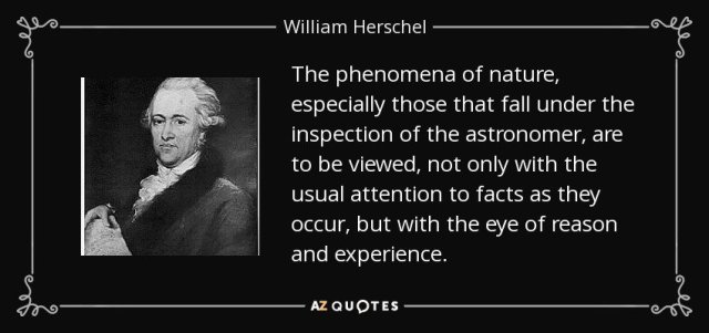 Herschel quote