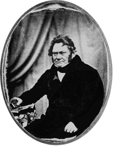 Daguerreotype of Berzelius. Source: Wikimedia Commons