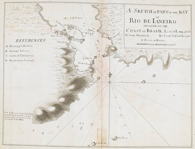 Captain James Cook set sail on board HMS Endeavour 26 August in 1768. Here are some drawings from his voyage – The British Library