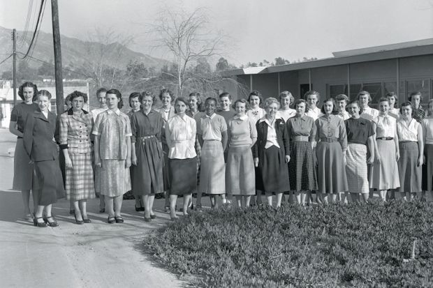 Source: Nasa/JPL-Caltech Women making history: the human computers at Nasa's Jet Propulsion Laboratory in Pasadena, California, in 1953