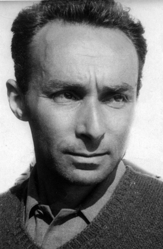Primo Levi Source: Wikimedia Commons