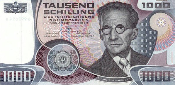 Schröding Bank Note
