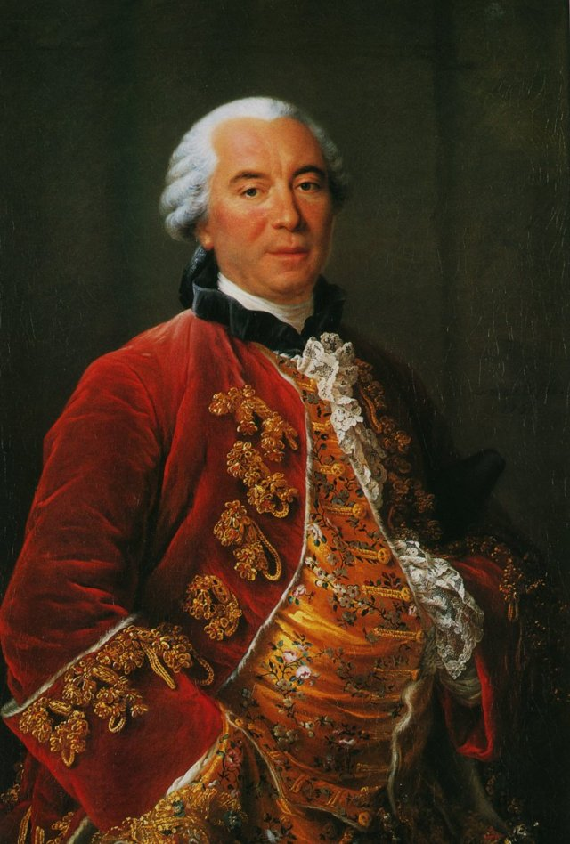 Portrait of Georges-Louis Leclerc, Comte de Buffon by François-Hubert Drouais Source: Wikimedia Commons