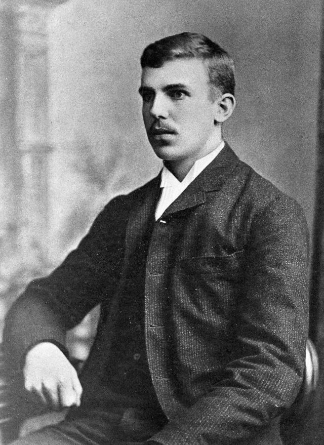 Ernest Rutherford 1892 aged 21 Source: Wikimedia Commons